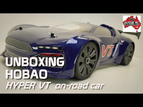 Unboxing: HoBao Hyper VT 1/8 Scale Road Car