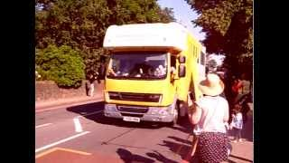 preview picture of video 'Olympic Torch, Bromley Hill, Bromley.'