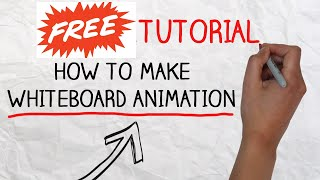 After effects tutorials for Whiteboard Animation Explainer Video FREE After Efects Templates; AE