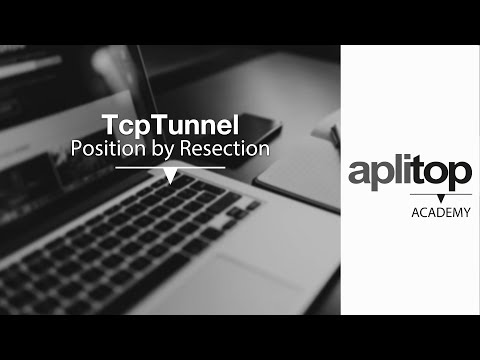TcpTunnel-1 Position by Resection