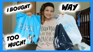 BABY BOY CLOTHING HAUL | Carters, The Childrens Place, Baby Gap, & Target |