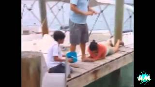 fishing fail compilation