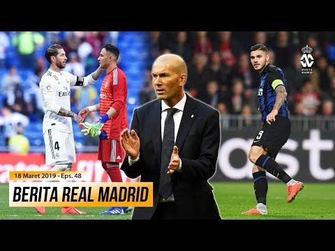 Zidane Raih Kemenangan Pertamanya di Laga Comeback ● Inter Milan Telah Tetapkan Harga Mauro Icardi