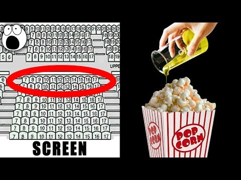 Top 10 Secrets Movie Theatres Don't Want You To Know