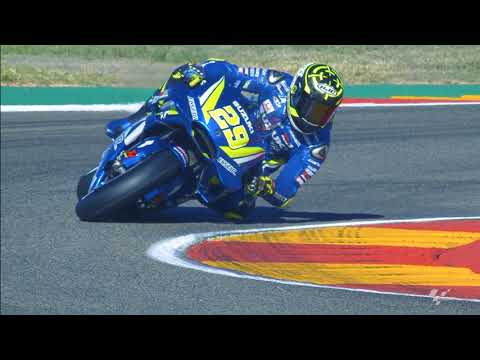 Suzuki in action: 2018 Gran Premio Movistar de Aragon