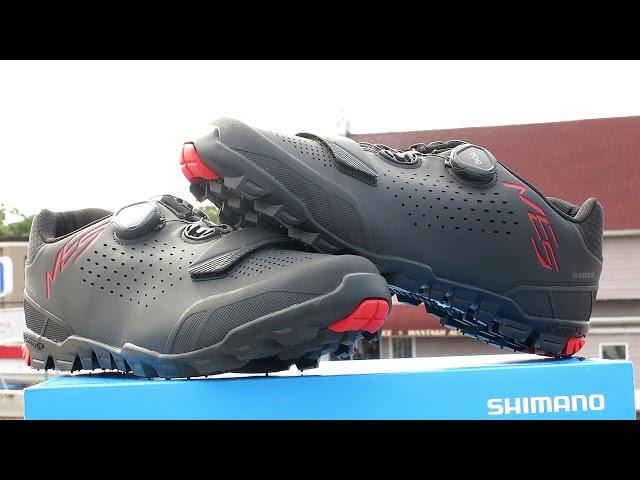 Видео Велотуфли Shimano SH-ME5-G черные