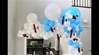Airplane Balloon Garland DIY | How To