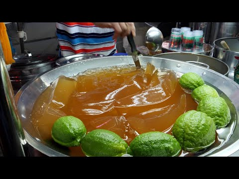 lime jelly juice / taiwanese street food