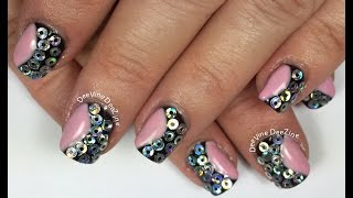 FUNKY SEQUIN NAIL ART (FOR BEGINNERS)