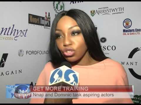 GENEVIEVE NNAJI AND RITA DOMINIC TASKS ASPIRING ACTORS TO GET MORE TRAINING
