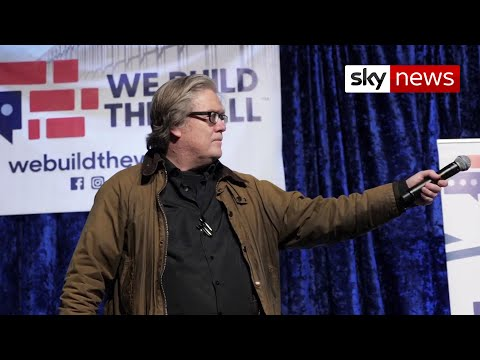 BREAKING: Former Trump advisor Steve Bannon charged with fraud over Mexico wall campaign