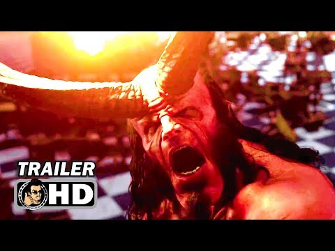 HELLBOY Behind The Scenes Featurette Trailer (2019)