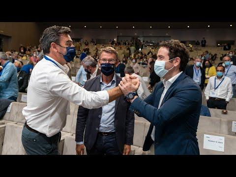 García Egea y Feijóo clausuran el XVI Congreso Provincial del PP de A Coruña