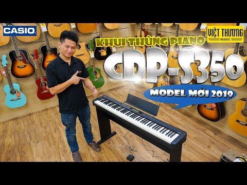 Khui thùng piano điện Casio CDP-S350