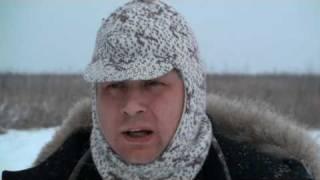 Смотреть онлайн Загонная зимняя охота на сибирскую косулю