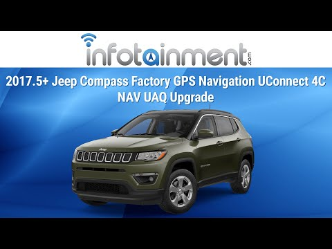 2017 5+ Jeep Compass Factory GPS Navigation UConnect 4C NAV