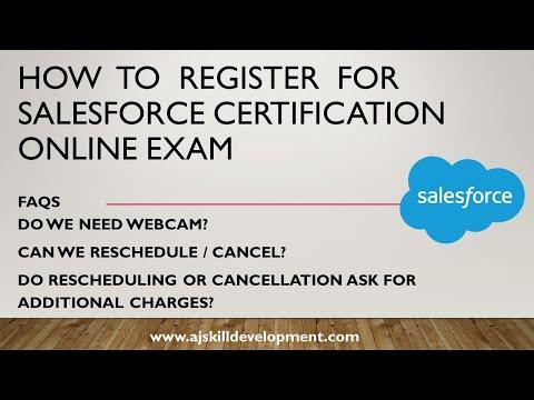 Online Salesforce Certification Exam - Guidance & Tips   AJ Skill ...