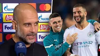 """""""They were excellent in every way."""" Guardiola delighted with Man City dominance vs Brugge"""