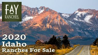 Idaho Ranches For Sale 2020 | Land, Properties, Acreage, Custom Homes, Cattle, Hunting | Fay Ranches