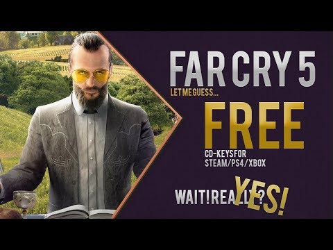 How I Got 😊 Far Cry 5 FREE cd-key ?! [ FC5 Free ] [PS4, Xbox, Steam]
