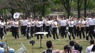 京都橘高校ブラスエキスポ2017公開リハーサルsing Sing Sing「4k」Kyoto Tachibana SHS Band