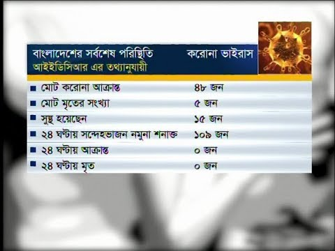 05 Pm Corona Bulletin || করোনা আপডেট || 29 March 2020 || ETV News