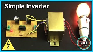 IC based Simple 12V to 240V  Inverter using MOSFET & IC 4047 | Homemade