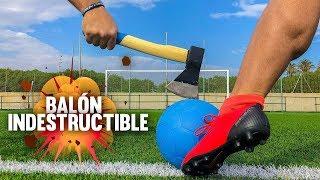 EL BALÓN INDESTRUCTIBLE ¿MITO O REALIDAD? ¡Retos De Fútbol!