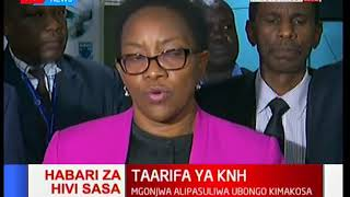 Taarifa ya KNH: Waziri amefanya mkutano na washikadau