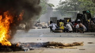 video: Myanmar protests: Dozens killed on deadliest day since coup as martial law imposed in Yangon hotspots