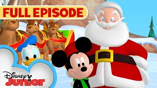 Mickey Saves Santa 🎅🏻 | Full Episode | Mickey Mouse Clubhouse | Disney Junior