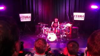 """Kenny Aronoff playing """"Paper and Fire"""" then part of """"Jack and Diane"""""""