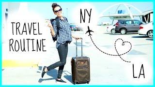 My Travel Routine + Flight Essentials!