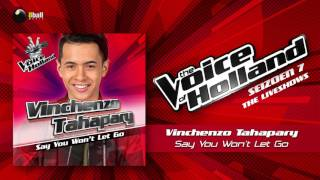 Vinchenzo Tahapary – Say You Won't Let Go The Voice Of Holland 2016/2017 Liveshow 4 Audio