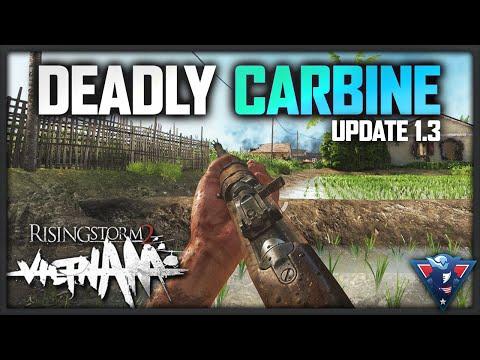 DEADLY M1 CARBINE | Rising Storm 2: Vietnam Gameplay