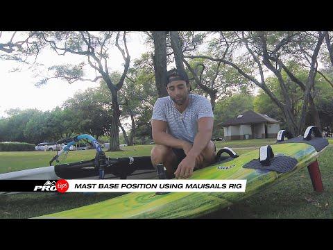 Pro Tips | Mast Base Position in slalom sailing