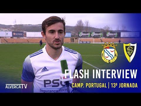 FC Alverca 1-0 GS Loures | Flash Interview