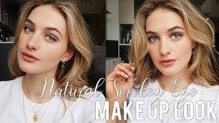 Natural Smokey Eye Makeup Look | Chic Easy Everyday Makeup Tutorial | Sanne Vloet