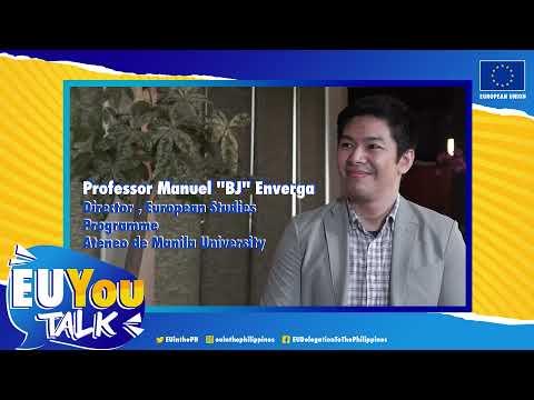 EU You Talk. EU Ambassador and Professor Manuel