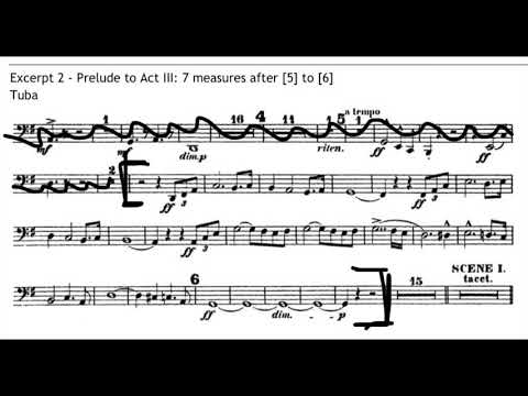 "Excerpt from Richard Wagner's ""Lohengrin"" (Prelude to Act III)"