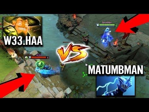 """THIS IS HOW Matumbaman Revenge 100% Counter W33 Storm Spirit """"New Liquid Mid"""" Dota 2 Fun gameplay"""