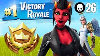 Winning in Solos!! // Pro Fortnite Player // 2100 Wins (Fortnite Battle Royale Gameplay)