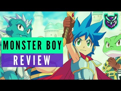 MONSTER BOY AND THE CURSED KINGDOM REVIEW video thumbnail