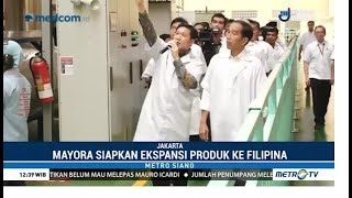Jokowi Bangga Ekspansi Mayora Group ke Dunia