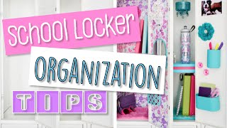 How To Organize Your School Locker - Storage And Decor Tips