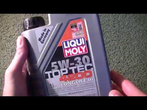 Liqui moly 5W30 Top-Tec 4200 Longlife III original product show