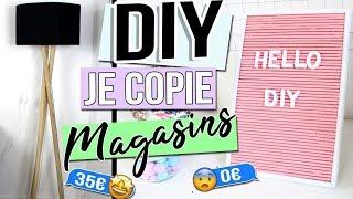 DIY DECO ┋ JE COPIE LES MAGASINS DE DECO _ FACILE PR CHAMBRE FRANCAIS