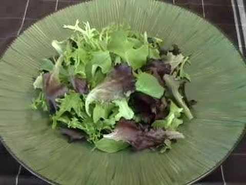 Nasturtium Salad – Pretty and Delicious