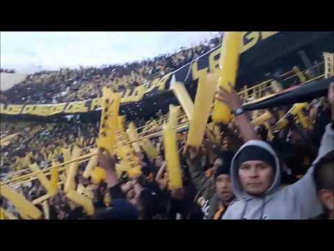 """THE STRONGEST 1 - 1 LANUS (DESDE LA CURVA SUR)"" Barra: La Gloriosa Ultra Sur 34 • Club: The Strongest"