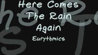 Here Comes The Rain Again Eurythmics